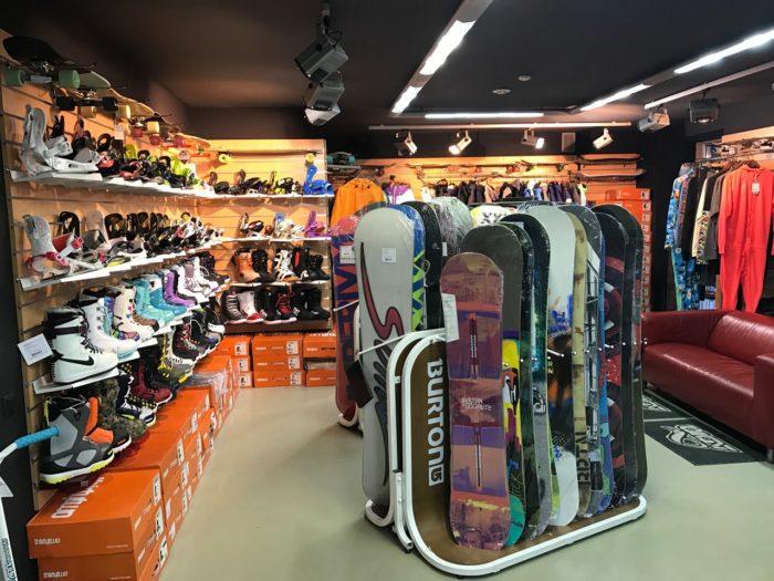 Skvot snowboards